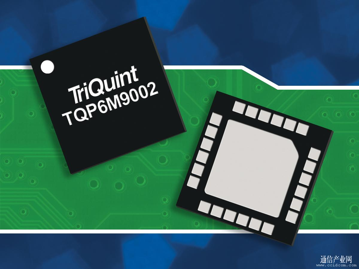 TriQuint WLAN解决方案助力全球智能手机